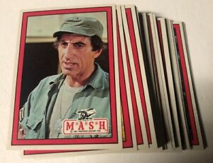 1982 Donruss MASH Trading Cards Complete Set of 66 Cards - Near mint-Mint