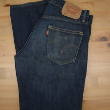 Levi's 514 Mens 30x32 Dark Wash Slim Straight Jeans