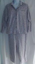 Aria Size XXL Pink, Gray & White Animal Print Pajamas