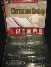 The Best of Christian Living, Cassestte Tapes, 8 Tapes, Books on Cassette