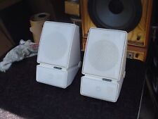 Polk Monitor M Series AWM311 White Stereo Speakers