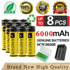 18650 Battery 3.7V Li-ion Rechargeable Battery For Light with Fast Charger BE