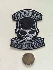 Patch toppa aufnaher Écusson embroidered Harley Davidson  thermocollant
