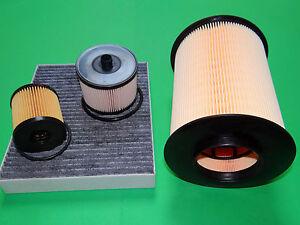 Gr. Filterset Filtersatz Inspektionspaket Ford Kuga I 2.0 TDCi 100kW/136PS