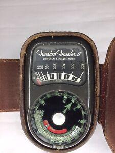 Vintage Weston Master II Universal Exposure Meter Model 735