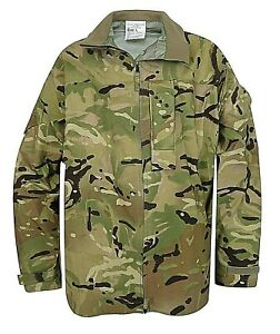MTP Lightweight Goretex Waterproof Jacket Genuine British Army Surplus MVP