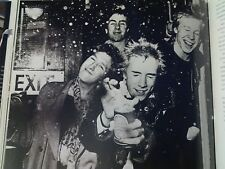Sex Pistols Johnny Rotten Celebrate with Beer Spray 1976 Picture from Music Book