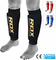 RDX Shin Guards for Kickboxing MMA Fighting Pads Muay Thai Training Protector