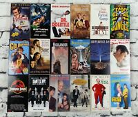 Lot of 18 VHS Movies Tapes, Family Classics, Comedy, Jim Carrey, Robin Williams