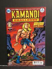 Kamandi Challenge #12A Miller Variant NM 2018 Stock Image
