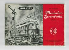 Marklin OO HO 753 Miniature Eisenbahn Layout Tips Catalog 1949 (KM)