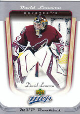 05-06 UPPER DECK MVP ROOKIE RC #402 DAVID LENEVEU COYOTES *2435