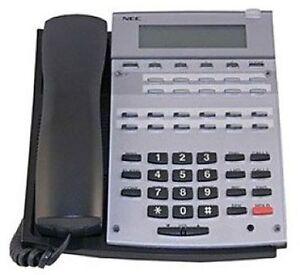 NEC 22B HF/Disp Aspire Phone BK 0890043 IP1NA-12TXH TEL Refurb *1 Year Warranty*