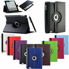 360°  Leather iPad Case Cover Stand for iPad Air & Pen lot