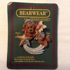 Vintage Boyds Bears & Friends Bearwear, McKenzie—Shootin' Star Christmas Pin