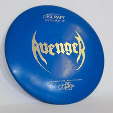 Rare Vintage Discraft Avenger Blue Maximum Distance Driver Elite X