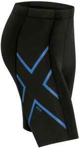 2XU ICE-X Mens Short Tights Black Compression Shorts Gym Training Workout