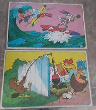 Set of 2 Looney Tunes Placemats Foghorn Leghorn Bugs Bunny Elmer Fudd Warner Bro