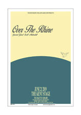 Over The Rhine 2019 Kent Concert Poster