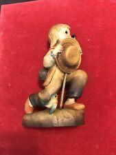 Anri Wood Carving Ferrandiz Alejandro Kneeling Rare Boy Devotion Le (M) /2250