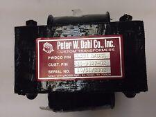 Peter W. Dahl Transformer Elcom Bauer P/N 326-9027-02