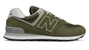 NEW BALANCE 574 Classic Scarpe Uomo Sneakers Suede Textile OLIVE ML574EGO