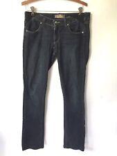 PAIGE Maternity Pregnancy Blue Wash Boot Cut Pants Denim Jeans Size 27 (D6)