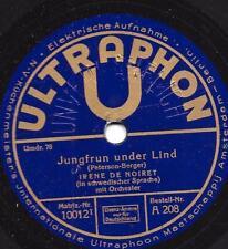 Irene de Noiret canta norvegese: Irmelin Rose + Jungfrun under Lind