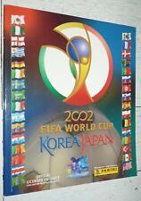 ALBUM PANINI FOOTBALL FIFA WORLD CUP KOREA JAPAN 2002 COUPE DU MONDE VIDE