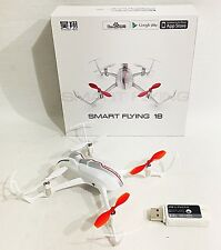 YUNEEC Smart Flying 18 Drone - iOS Bluetooth Controlled USA Seller New In Box