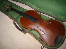 very old and nice old Violin  4/4   nicely flamed back, lined and blocked