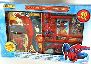 RARE NIB 2006 Marvel The Amazing Spider-Man Back to School Super Set 1842375TU