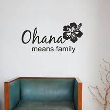 Ohana means Family Wallpaper Wand Schmuck 80 x 40 cm Wandbild