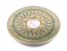 BAGUA COMPASS Metal Chinese Feng-Shui Lo Luo Pan Chi Ying-Yang Luck Brand New #A