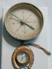 Vintage Lot Of Two Compasses