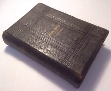 Holy Bible - Oxford University Press, References, Gold Gild Edges - 1874 Antique