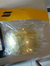 New listing Esab Front Cover Lens Amber Hd.Package of 5