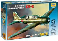 ZVEZDA 4805 - Soviet Airplane - Bomber SU-2 - WWII / Scale Model Kit 1/48