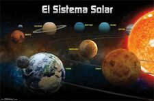 CARTEL ESPAÑOL DE EDUCACIÓN El Sistema Solar