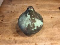 antique architectural salvage Copper Flagpole Finial, Sheffield