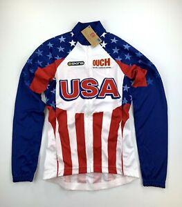 USA Cycling Women's Long Sleeve Jersey Size XS new