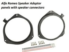 "Alfa Romeo Giulietta Front Rear Doors 165mm / 6.5"" 2010 > Speaker Ring Adaptors"