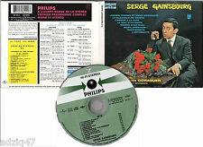 ♪♪ CD DU CHANT A LA UNE SERGE GAINSBOURG RE-MASTERING 24 bit masters originaux ♪