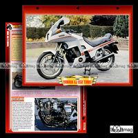 #053.02 Fiche Moto YAMAHA XJ 650 TURBO 1982-1985 Motorcycle Card