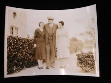 "Vintage Original Babe Ruth Snapshot Photograph - 5"" x 7"""