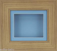 Pequeño Roble Efecto PROFUNDO Caja MARCO FOTOS MEDALLAS 3d 2d objetos