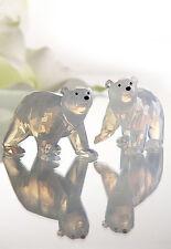 Swarovski SCS Polar Bear Cubs White Opal  2011 + Sister Bear New