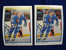 1990 O pee Chee Premier Mats Sundin  rookie card lot  RC Maple Leafs Nordiques
