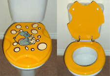 Designer Novelty Printed Toilet Seat - Cheese & Mouse