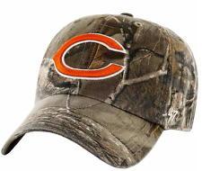 CAMO Chicago Bears BASEBALL HAT Adjustable NFL Cap Hunting Realtree Design NEW